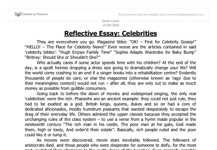 How to Write a Good Reflective Essay?