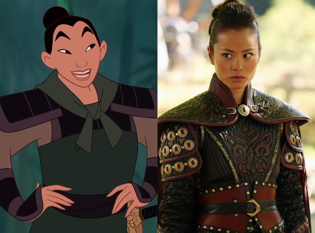 Mulan, Animated Disney vs. Live Action Disney