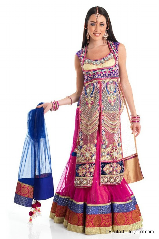 Anarkali-Frocks-in-Double-Shirts-Style-Double-Shirt-Dresses-2012-2013-5