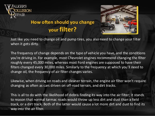 How Often Should You Change The Engine Air Filter