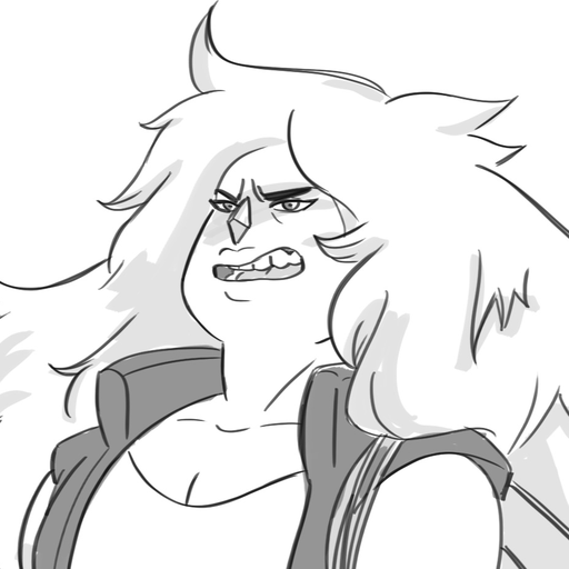 genuinefauxthought said: How about...Jasper and Bismuth competing with feats of strength to impress Pearl? Answer: Pearl likes that