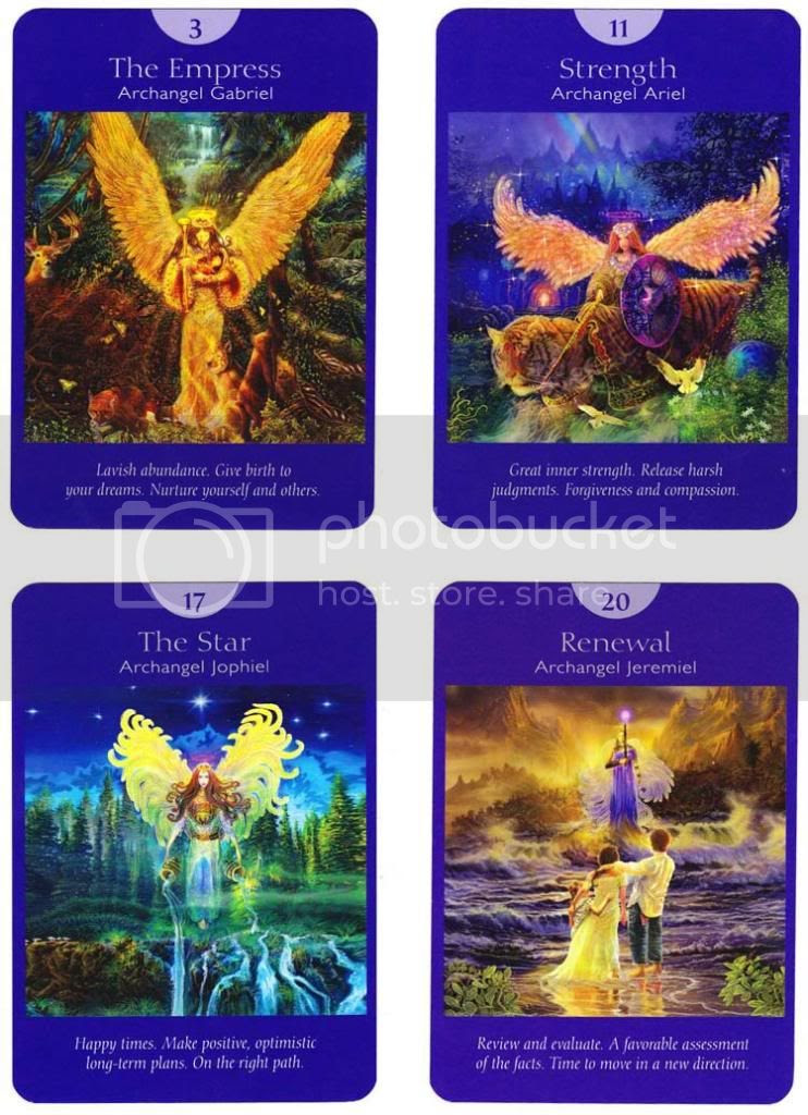 how to read doreen virtue angel tarot cards