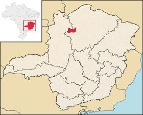 Localização de São Romão