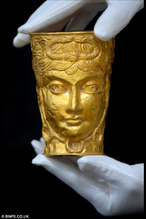 Fortune: This metal cup has turned out to be an ancient treasure