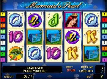 Игровой автомат mermaids pearl русалочка любители ставок