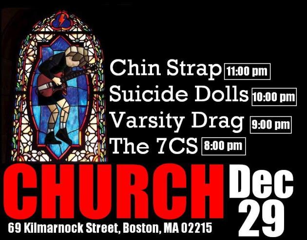 Varsity Drag close out 2011 at Church, December 29, 2011