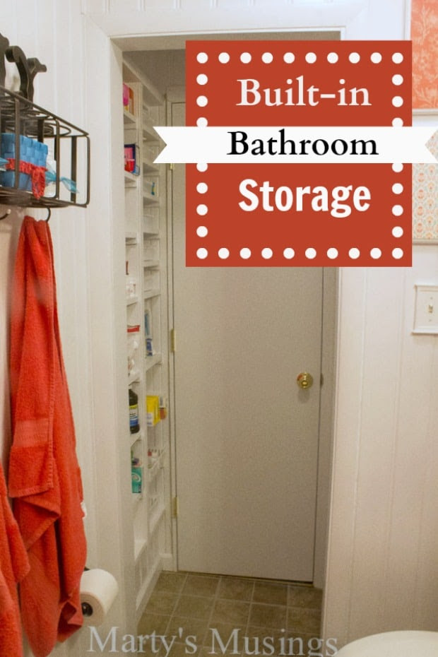 Storage Solution for a Small Bathroom