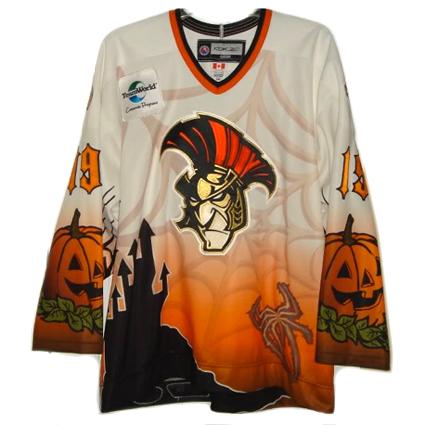 Binghamton Senators 08-09 Halloween jersey
