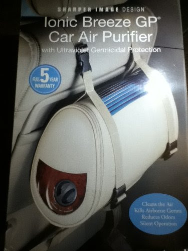Buy Low Price Sharper Image Ionic Breeze Gp Car Air Purifier With Uv