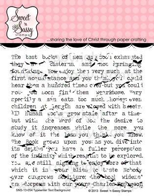 SNSS Typewriter