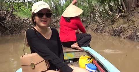 Du lịch miền tây sông nước toàn cảnh Cồn Thới Sơn Mỹ Tho Tiền Giang