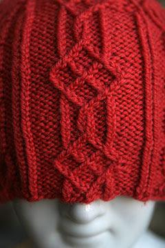 """Hat """"Little Window"""" Pattern"""
