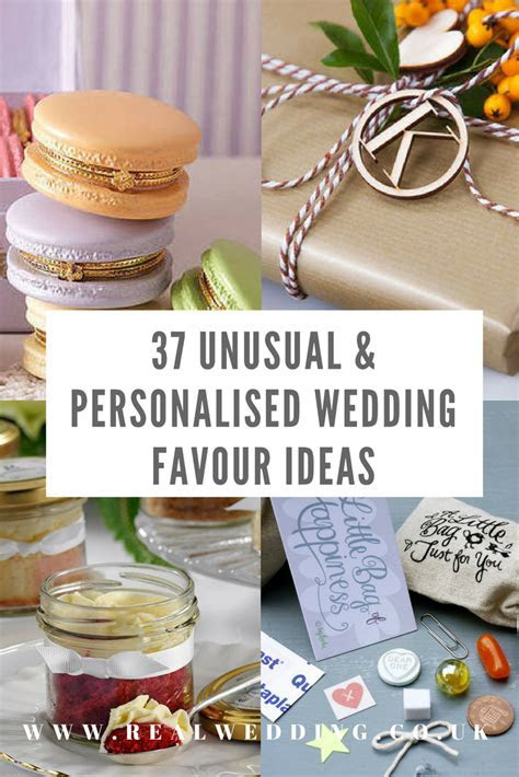 37 Unusual & Personalised Wedding Favour Ideas   Real Wedding