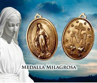 Resultado de imagen para medalla milagrosa tesoros