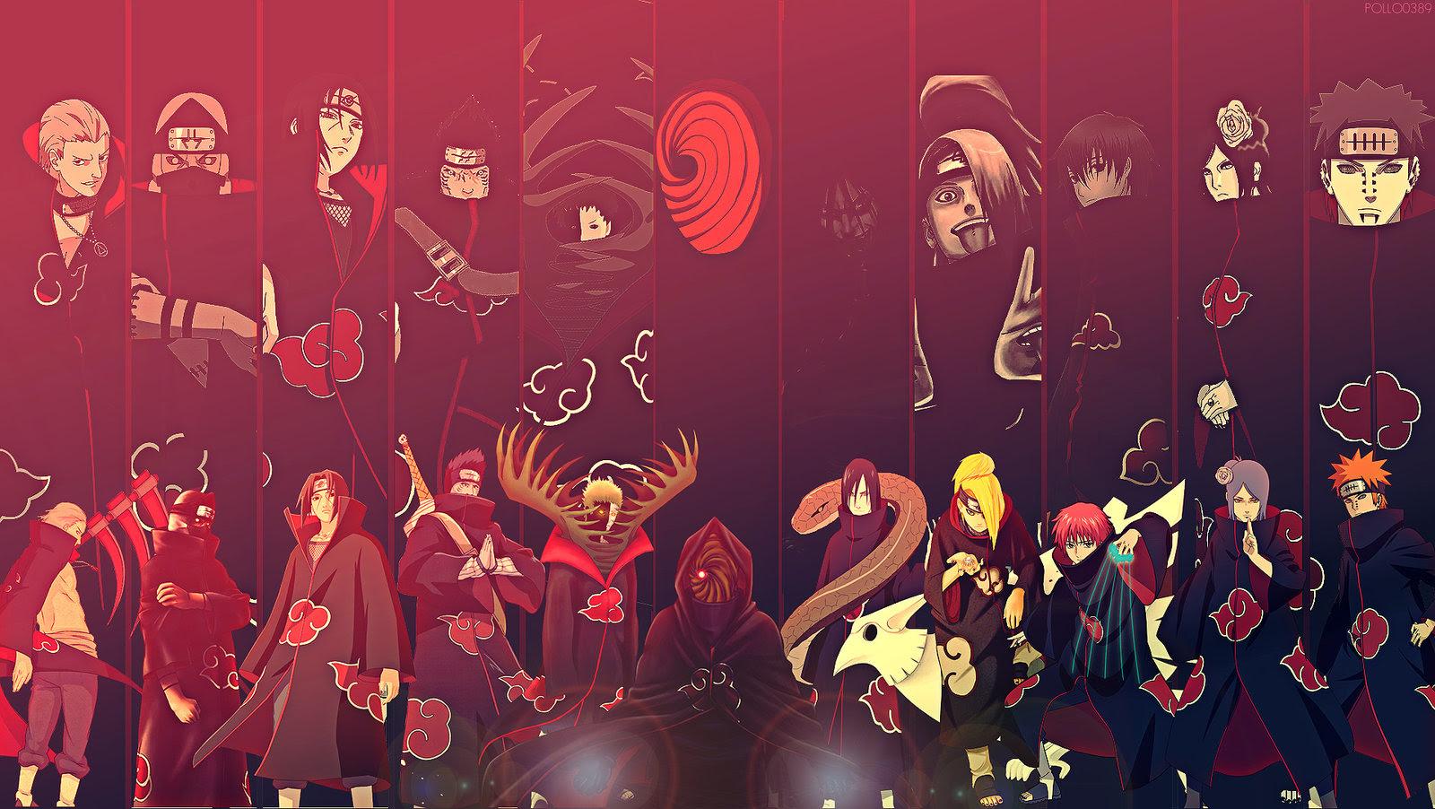 Really Cool Akatsuki Wallpaper Naruto
