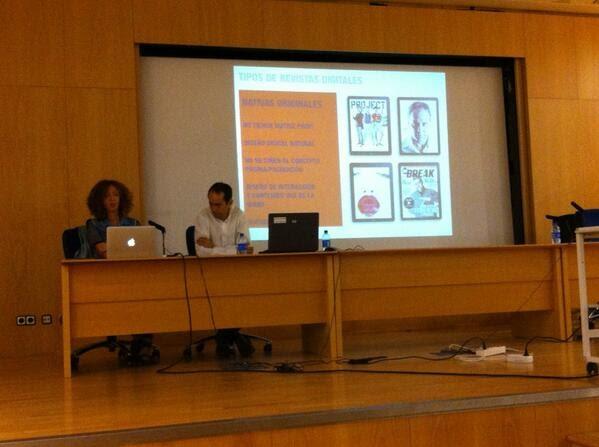 Revistas en el iPad (Natalia Bajo)<br>V Jornadas de Diseño URJ (1)