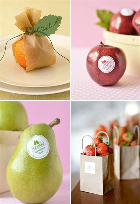 Fruit Wedding Favor Ideas   Weddings By Lilly
