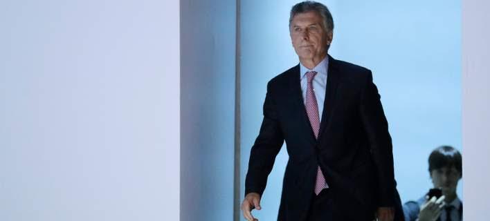 Ο πρόεδρος της Αργεντινής, Μαουρίσιο Μάκρι/Φωτογραφία: ΑΡ