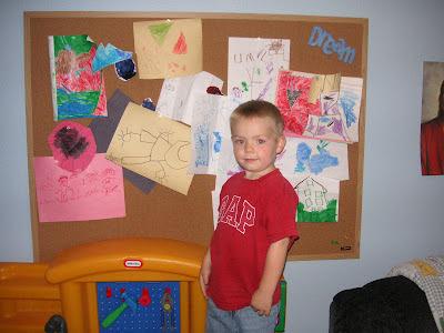 Matthew Cherry in his painting studio