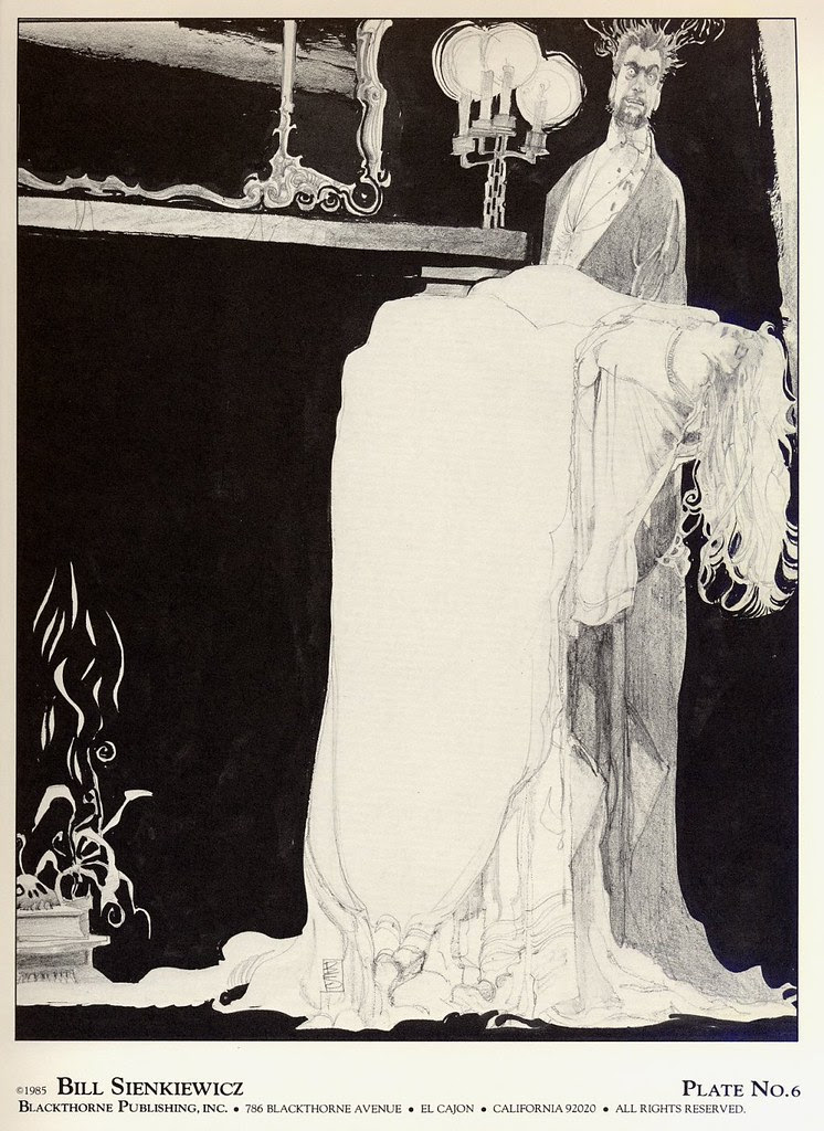 Bill Sienkiewicz - Vampyres (Blackthorne Publishing, Inc 1985) Plate 6