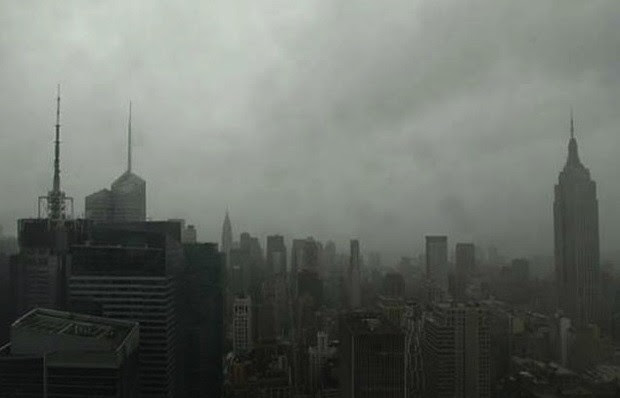 Hurricane Sandy in Manhattan