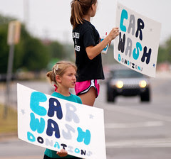 Force Cheerleader Carwash at Sonic Drive-In-8655