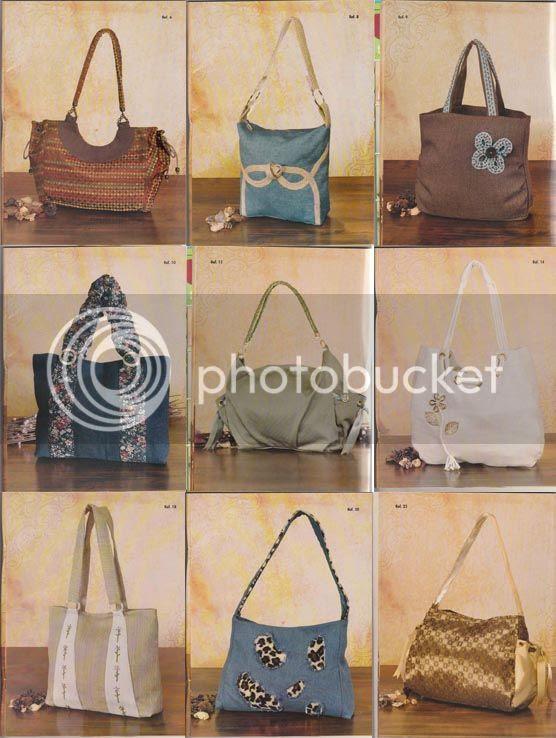 bolsos en tela carteras en tela diseños