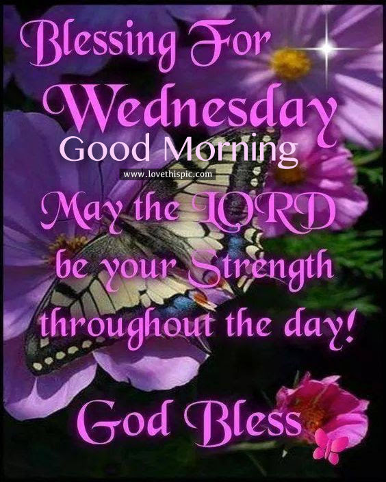 Good Morning Wednesday Blessing Images
