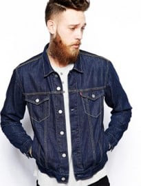 Levis Denim Jacket Regular Fit Trucker Stonewash