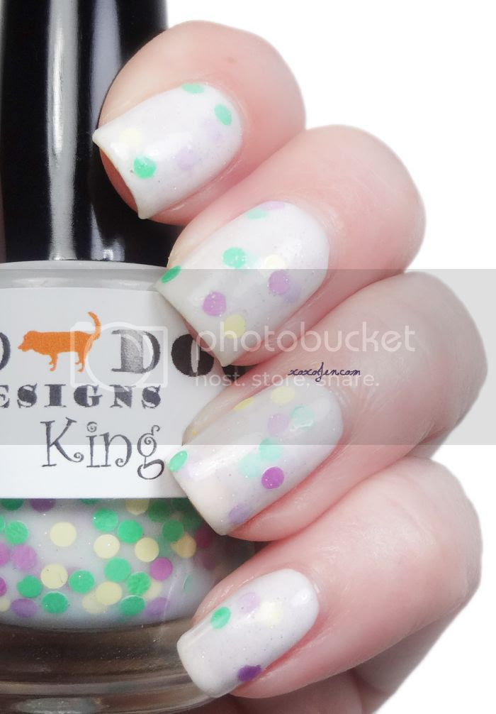 xoxoJen's swatch of Red Dog Design's King Cake