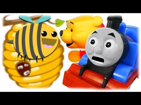 Train Thomas to the Rescue - Winnie the Pooh and Honey Episode 2