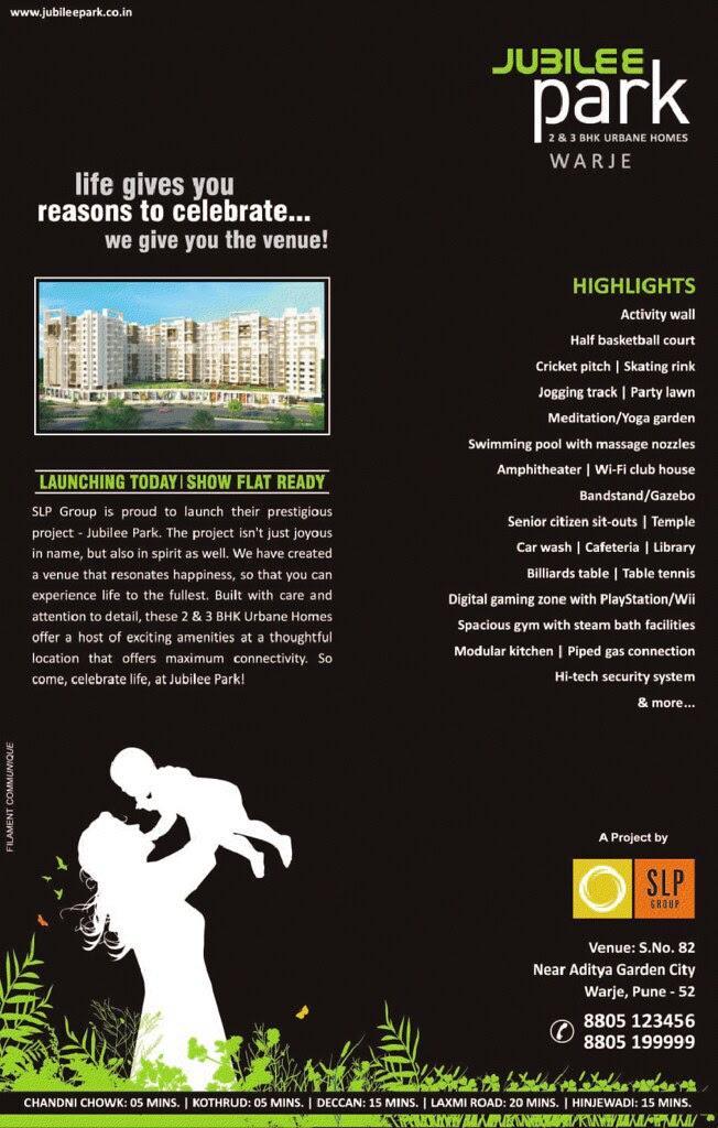 Jubilee Park 2 BHK 3 BHK Flats near Aditya Garden City Warje Pune 411 052