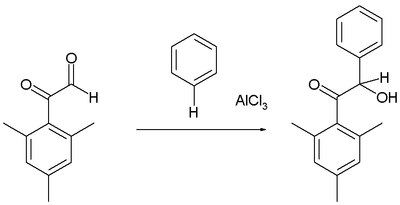 Friedel-Crafts hydroxyalkylaiton