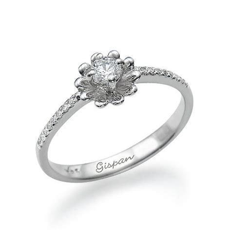 17 Best ideas about Flower Engagement Rings on Pinterest