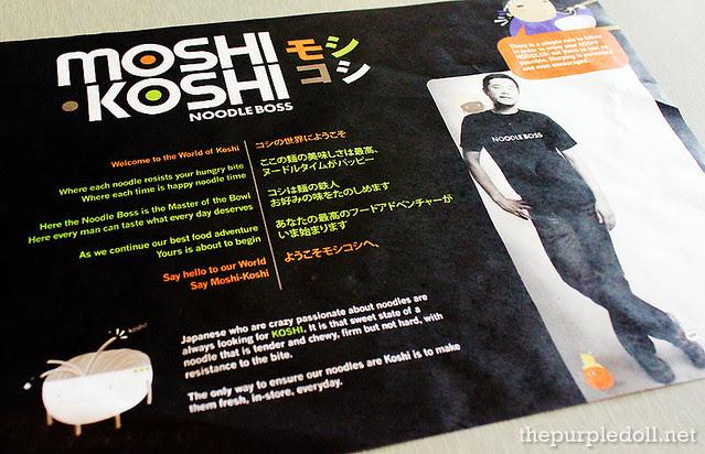 Moshi Koshi Noodle Boss