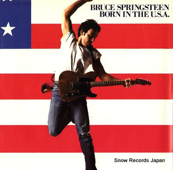 SPRINGSTEEN, BRUCE born in the u.s.a