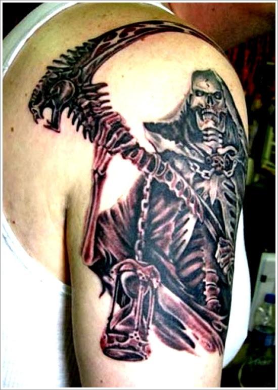 27 Tatuajes De La Muerte Personificada