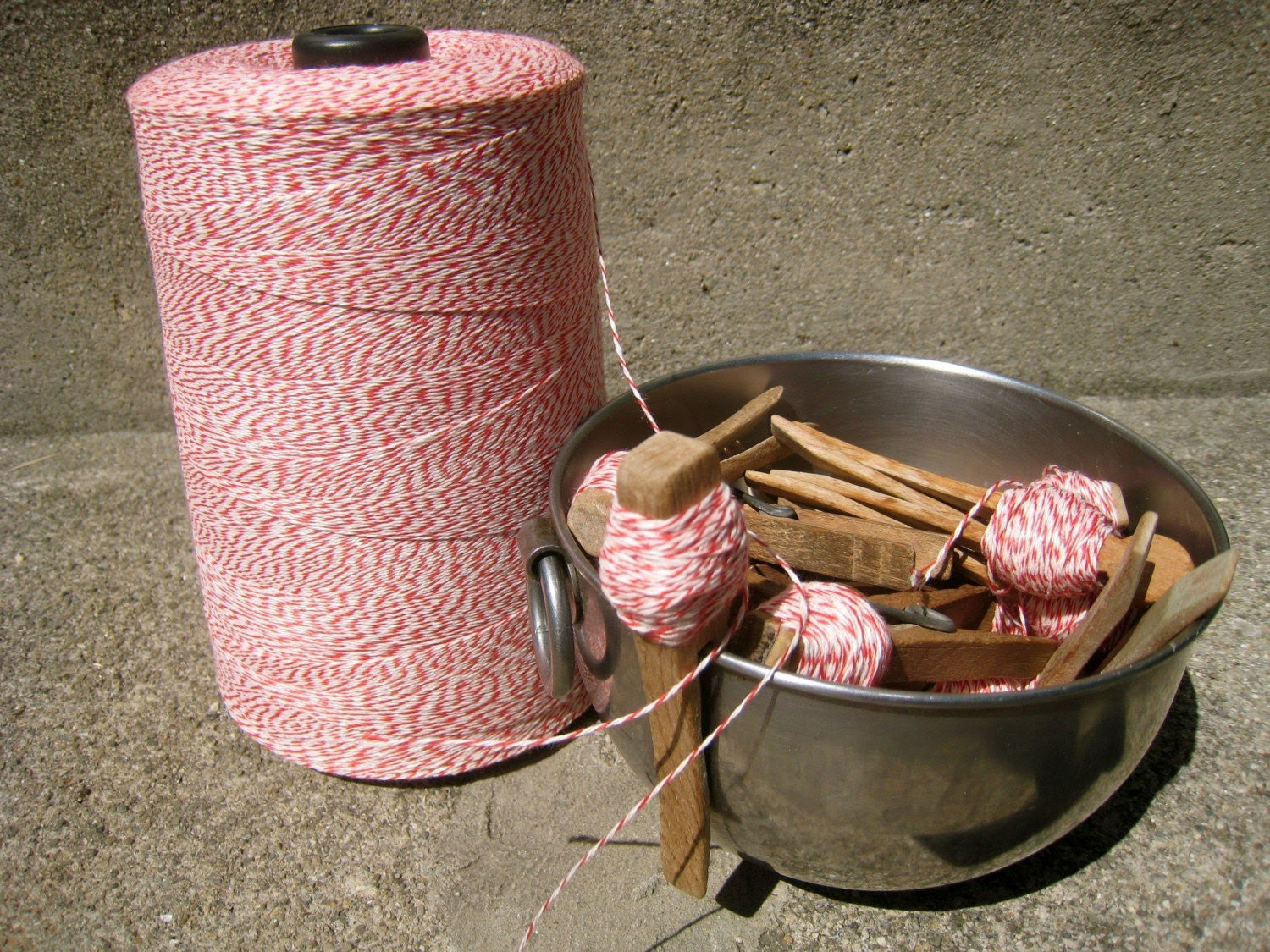 Bakers Twine bundle/25 yards of lovely twine