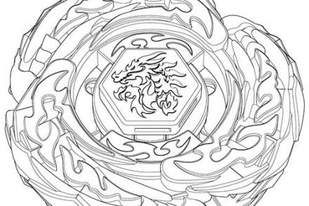 【Meilleur de】 Coloriage Toupies Beyblade Burst