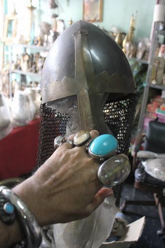 The Helmet At The Moradabadi Store Pydhonie by firoze shakir photographerno1