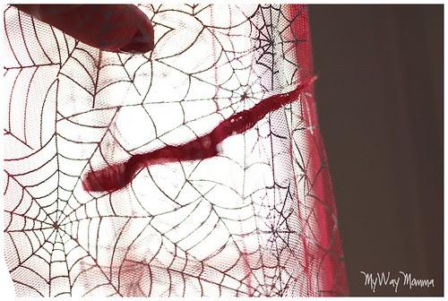 MWM Red 2 tier Halloween Skirt Oct 2012 28