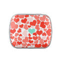 One in a Million Hearts Candy Tin