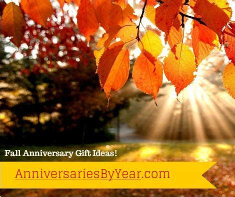 Fall Anniversary Gift Ideas   Wedding Anniversary Blog