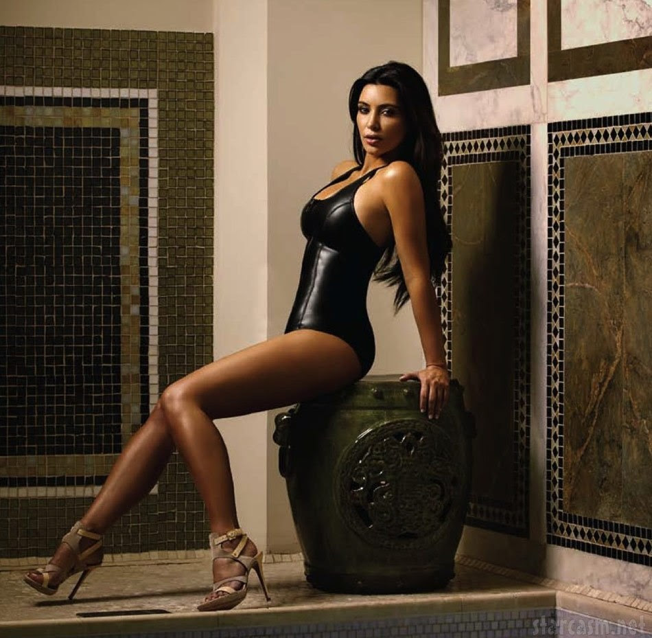 15 Hottest Kim Kardashian Photos in Black - Sexy Actress Pictures | Hot Actress Pictures