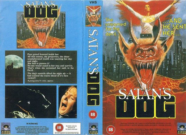 Satan's Dog (VHS Box Art)