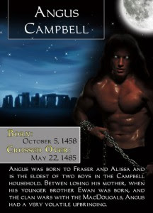 Bonded By Blood Characters - Angus Campbell