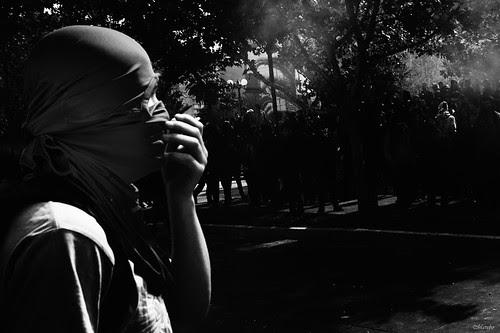 Cuando una protesta se vuelve arte... by Alejandro Bonilla