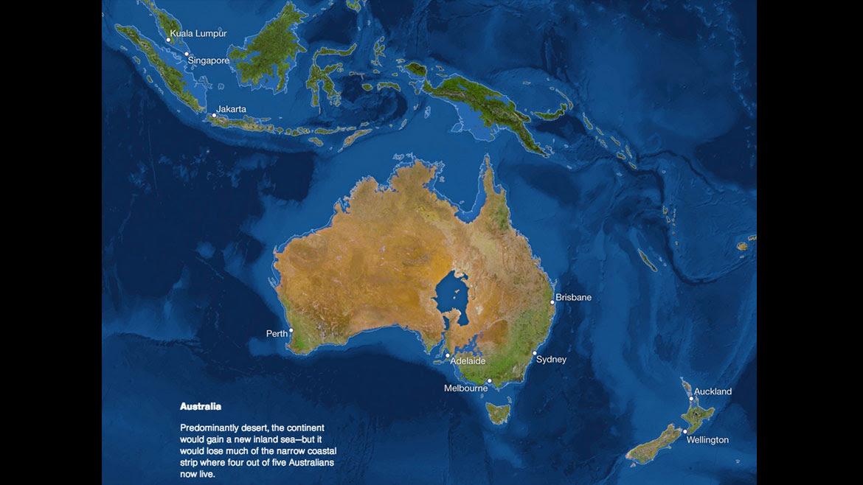Los efectos del calentamiento global y el derretimiento de los glaciares en Oceanía