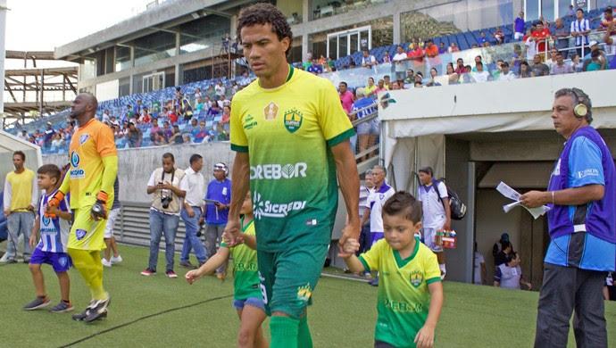 Atacante Geilson, Cuiabá (Foto: Assessoria/Cuiabá Esporte Clube)