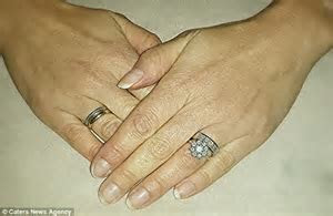 Wife Kate Hunter reunited with wedding ring thanks to